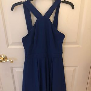 lulus blue dress